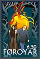 Faroe stamp 437 The Return of Baldur and Hodur.jpg