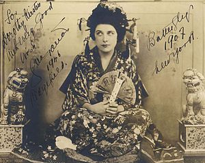 Madama Butterfly - Geraldine Farrar as Madama Butterfly, 1907