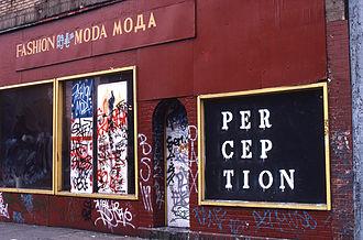John Fekner - Fashion Moda, South Bronx, NY, 1981