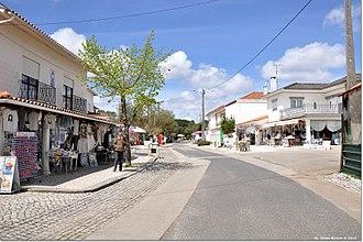 Aljustrel (Fátima) - A street of Aljustrel.
