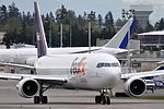 Federal Express (FedEx), Boeing 767-300F, N118FE - PAE (18754732164).jpg