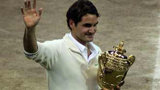 2012 Wimbledon Championships – Men's singles final - Image: Federer Wimbledon 2012 Champion