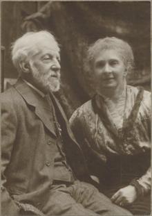 Felix and Margaret Moscheles (Source: Wikimedia)