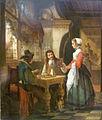 Ferdinand de Braekeleer - Schaakspelers in een herberg.JPG