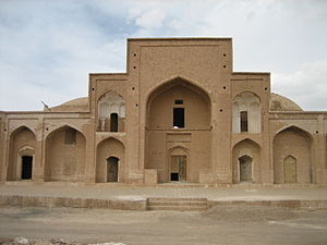Ferdows - The Religious School of Ferdos, once belonging to Safavid Dynasty.