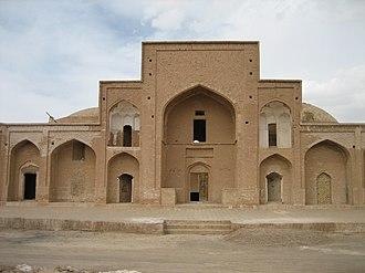 Ferdows - The Religious School of Ferdos, once belonging to Safavid Dynasty.