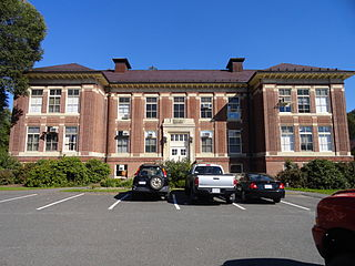 East Ridge Historical Area Area on the campus of UMass Amherst, US