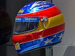 Fernando Alonso 2000 helmet left 2017 Museo Fernando Alonso.jpg