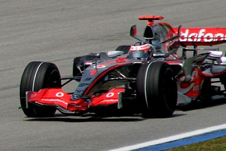 2007 Malaysian Grand Prix - Fernando Alonso won the race; his first victory for McLaren.