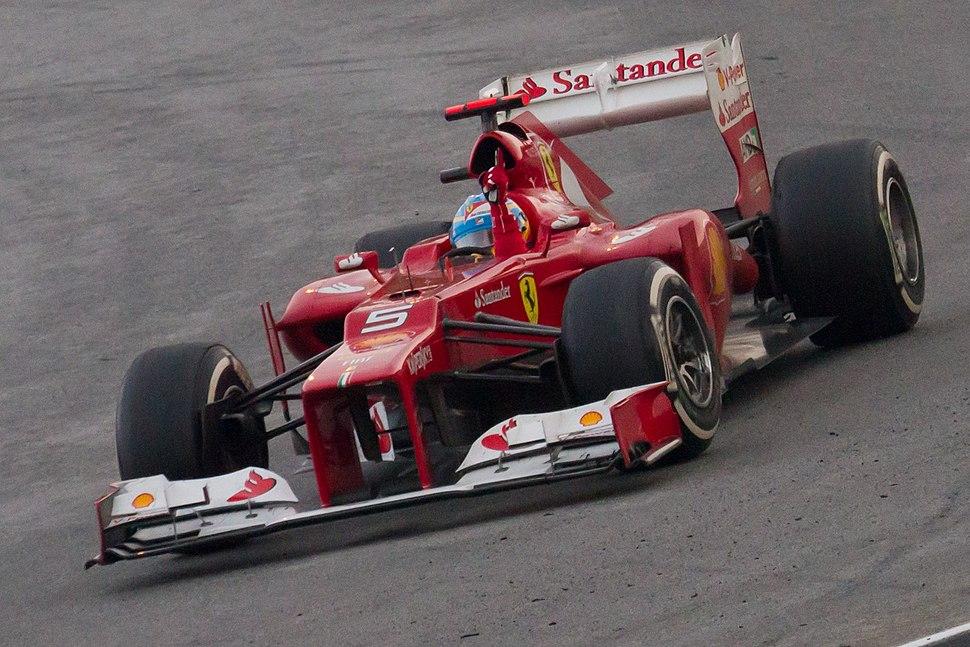 Fernando Alonso won 2012 Malaysian GP