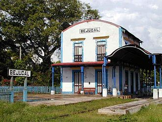 Bejucal - Bejucal railway station