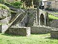Fiesole, area archeologica, teatro 10 arco.JPG