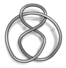 Una curva semplice chiusa nello spazio tridimensionale è un nodo.