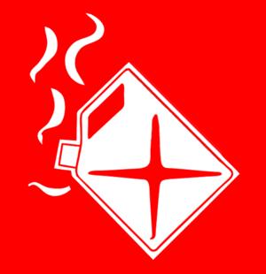 Fire class - Image: Fire Liquid