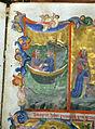 Firenze, commedia di dante, codice miniato da simone camaldolese e aiuti, purgatorio canto I, 1398, tempi 1, c. 32r, 03.JPG