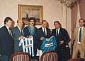 Firma del contrato de patrocinio de la Real Sociedad de Fútbol por parte de la empresa Niessen en Oiartzun (Gipuzkoa)-1.jpg