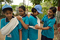 First Aid and Emergency Management Session - Summer Camp - Nisana Foundation - Sibpur BE College Model High School - Howrah 2013-06-08 9192.JPG