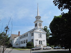 Shrewsbury, Massachusetts - First Congregational Church