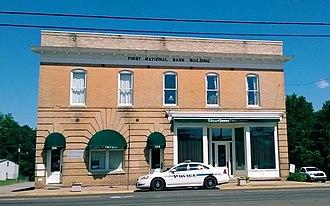 First National Bank Building (Creedmoor, North Carolina) - Image: First National Bank Building (Creedmoor, North Carolina)