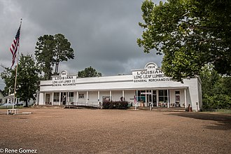 National Register of Historic Places listings in Sabine Parish, Louisiana - Image: Fisher 1 (1 of 1)