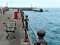 Fishing boat entering Torquay Harbour - geograph.org.uk - 1279329.jpg