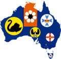 Flag-map of States and territories of Australia.png