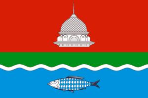 Bugulminsky District - Image: Flag of Bugulminsky rayon (Tatarstan)