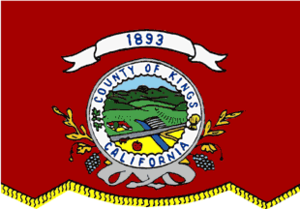 Lemoore, California - Image: Flag of Kings County, California