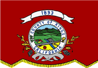 Kings County, California - Image: Flag of Kings County, California