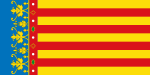 Flag of the Land of Valencia (official).svg