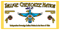 Flag of the Tallige Cherokee Nation.PNG