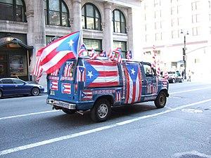 Puerto Rico van