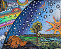 Flammarion Woodcut 1888 Color 2.jpg