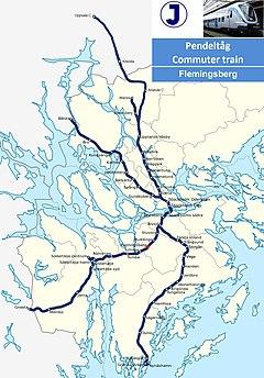 Flemingsberg station map.jpg