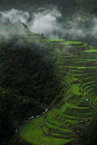 Lists of Cultural Properties of the Philippines - The Ifugao Rice Terraces is an example of a nationally recognized cultural property.