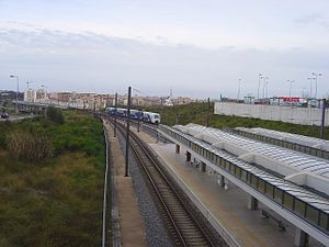 Fertagus - Fertagus at the Fogueteiro Station