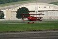 Fokker Dr.I Manfred Richthofen Landing 05 Dawn Patrol NMUSAF 26Sept09 (14596627341).jpg