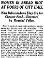 Food Riots of 1917 in the New York Times on February 21, 1917.jpg