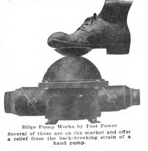 Bilge pump - Image: Foot power bilge pump