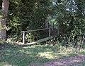 Footbridge and stile leading to Footpath 1778 - geograph.org.uk - 252519.jpg