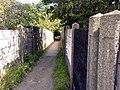 Footbridge over rail line - geograph.org.uk - 533929.jpg