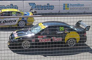 2011 Fujitsu V8 Supercar Series - The Ford BF Falcon of Tom Tweedie at the Adelaide round