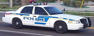 Orlando Police Department - Ford Crown Victoria Police Interceptor.