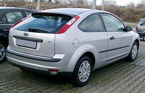 Ford Focus (second generation, Europe) - 3-door hatchback (pre-facelift)
