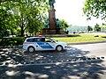 Ford police car at Széchenyi Monument, István Széchenyi Square, 2011 Budapešť 0833.jpg