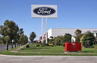 Ford Australia - Stamping plant at Geelong (closed 2016)