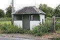 Forlorn bus shelter on A338 near railway bridge. - geograph.org.uk - 189838.jpg