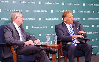 Mike Rogers (Michigan politician) - Mike Rogers at Hudson Institute talked about Clear and Present Danger: Confronting the Cyber Threat from China and Russia