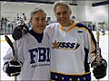 Former FBI Director Robert Mueller and Former Secret Service Director Mark Sullivan participate in the Annual Secret Service vs. FBI Charity Hockey Game.jpg