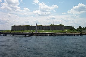 Das Fort Independence auf Castle Island
